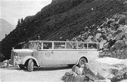 Magirus maybach car jahrgang 1930 originalausführung im gebirge